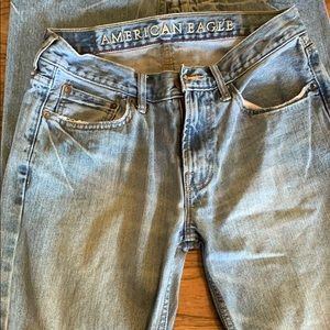 American Eagle low rise boot jeans